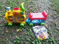 VTech sit-to-stand Alphabet Train with pieces Murfreesboro, 37127