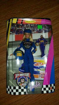 50th Nascar Barbie doll collectable