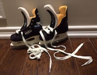 BAUER charger hockey skates Y10D, fits shoe size 11-12 | used only once - as new condition Ajax, L1T 0A9