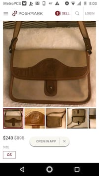 brown and beige leather crossbody bag collage 363 mi