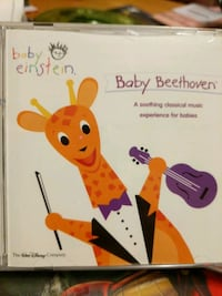 Baby Einstein baby Beethoven cd Lincoln, 02865