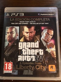 Juego grand theft auto iv para sony ps3 5639 km