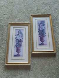 Set of two beautiful wall frame ( Airdrie)