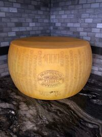 "Artificial Form of Cheese. 16"" wide. Looks real! Vaughan"