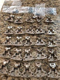 "Cabinet Compact 1/2"" Overlay Hinges, 30 with new screws Great Falls, 22066"