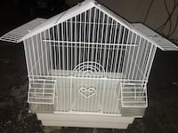 bird cage comes with 2 budgies (birds) Toronto, M3N 1L1
