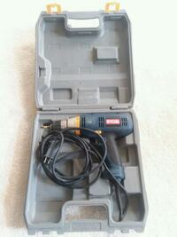 black and gray Bosch corded power drill with case Beltsville, 20705