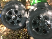 4 tires and rims. Fit dodge 2500  Lewisville, 27023