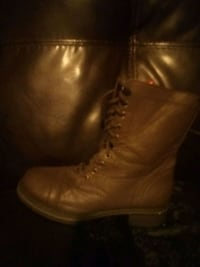 Leather paratrooper too boots Gaston, 29053