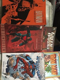 Marvel  & DC graphic novel collection 8 books Reston, 20190