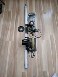 Router/skill saw combo set with table track.  London, N5Y 5E4