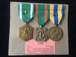 US Marine Corps Medals