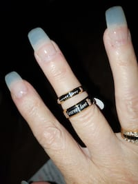 Beautiful forever love stainless steel rings Pueblo, 81003