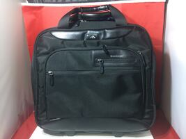 "Brenthaven Elliot Wheeled Case 15"" Black Laptop Bag"