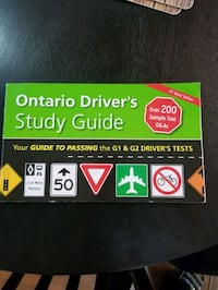Driver study guide for G test Brampton, L6X 1R3