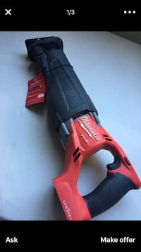 """Milwaukee New Hammer Drill/ Drivier 1/2"""" FUEL - M18 Never Used Tool Only Los Angeles, 91406"""