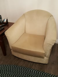beige fabric sofa chair Regina, S4V 1C5