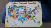 United States of America Map Puzzle