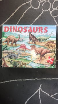 Large Dinosaur floor puzzle . All the pieces there. Midlothian, 60445