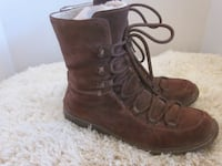 Timberland's Ladies Brown Suede leather Mukluk Style Winter Boots - Size 9M Winnipeg