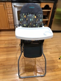 Baby's black and white high chair Montgomery Village, 20886