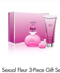 SEXUAL FLEUR By MICHEL GERMAIN 3 PIECE GIFT SET  Brampton, L6R 0W2
