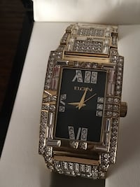New Elgin $250 crystal watch needs replace new battery's Anoka, 55303
