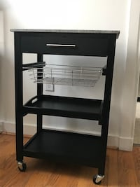 black granite top kitchen cart Frederick, 21701