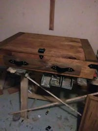 brown wooden table with drawer New Albany, 38652
