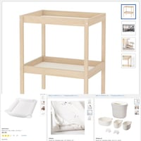 Changing table and accessories Surrey, V3S 0E1