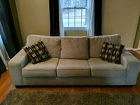 gray fabric 3-seat sofa Silver Spring, 20906