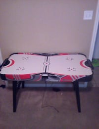 white, red, and black air hockey table Killeen, 76549