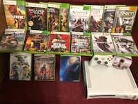 Xbox 360 with games and saved files on Harddrive Bridgeport, 06607