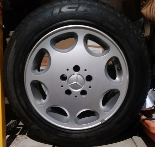 16 Inch Mercedes Benz Wheels And Tires Tire Size 225 55 16
