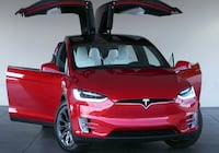 ♘2017 Tesla Model X Washington