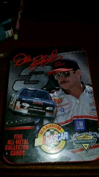 DALE EARNHART 5 all metal collector cards  Baltimore, 21205