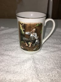 Norman Rockwell Lazy Days mug Port Coquitlam, V3B 4K3