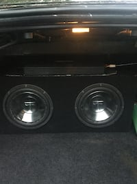 """Two 10"""" Infinity subs and amplifier  Halifax, B4E 3G7"""