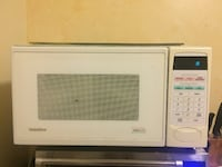 white General Electric microwave oven TORONTO