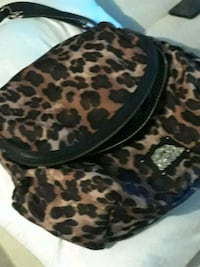 black and brown leopard print hat Carmichael, 95608