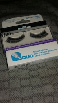 brand new lashes with glue Sooke, V9Z 0S7