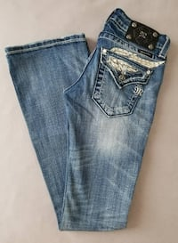 Womens Miss Me Boot Cut Denim Jeans, New With Tags - Size 25 Cape Coral