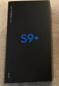 black Samsung Galaxy S9 plus with box Mississauga