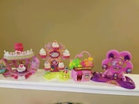 Littlest pet shop and glitter globe play houses Fulton, 20759