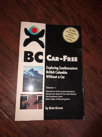 Book - BC Car Free By Brain Grover.  Mississauga, L5G 2P6