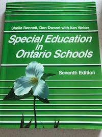 Book Special Education in Ontario Schools Seventh Edition Mississauga, L4W 2H2