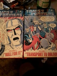 Transformers and Winnie the Pooh on VHS Calgary, T2A 0M2
