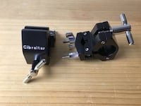 Pair of Gibraltar Road Series Multi Clamp for Rack Tom Percussion Aux New Anchorage, 99503