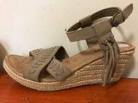Beige suede Minnetonka Wedges Baltimore, 21234