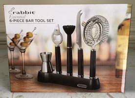 """Rabbit Essential"" 6 pc Bar Tool Set.."